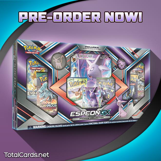 Pokemon EspeonGX Premium Collection Box Pokémon