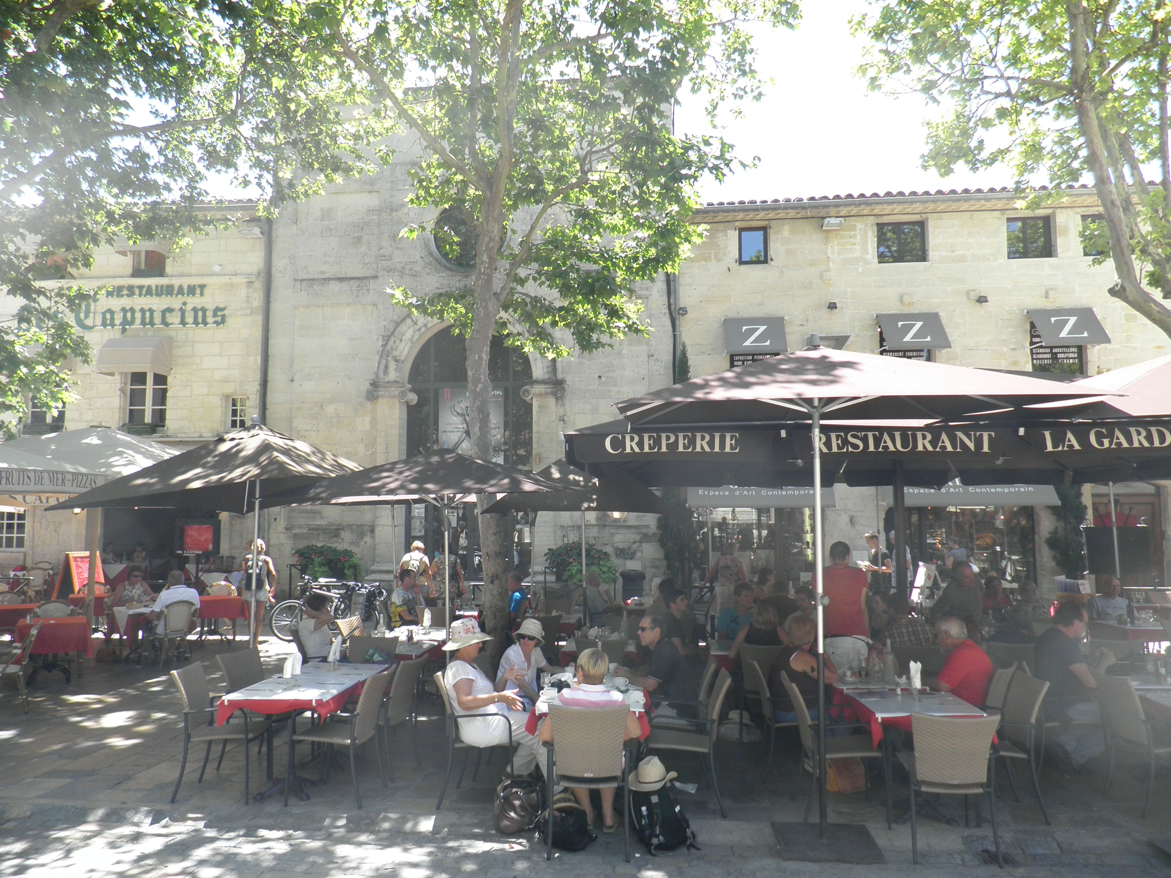 We Had Lunch At La Gardiane Restaurant In The Walled City Of Aigues Mortes In Southern France Walled City Aigues Mortes France