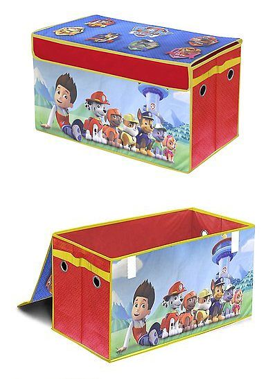 Toy Boxes 94932: Toy Organizer For Kids Collapsible Storage Trunk Boys  Girls Storing Box Chest