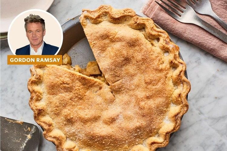 Gordon ramsays apple pie recipe is like nothing youve