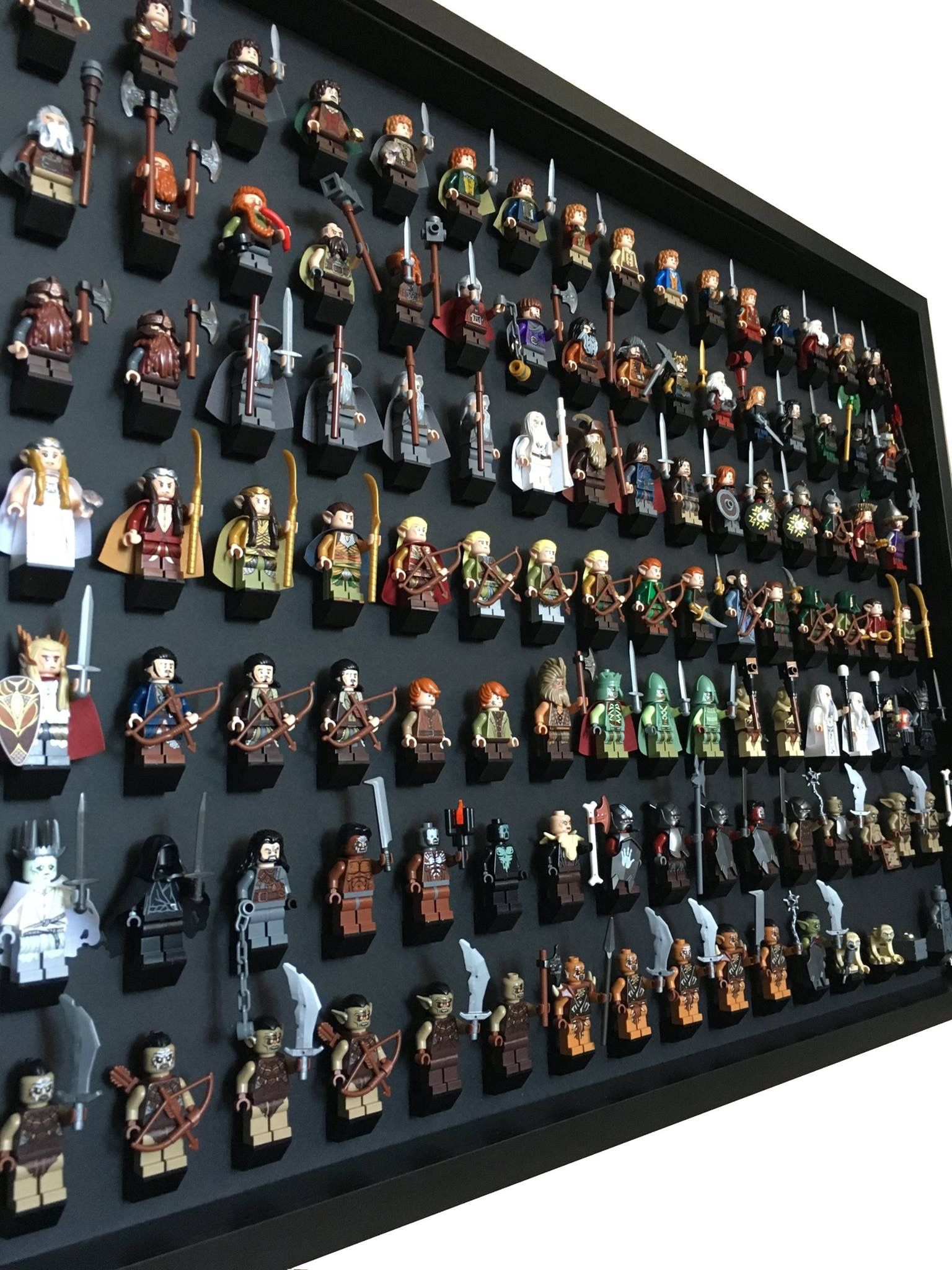 LEGO Minifigures Complete collection Lord of the rings / The Hobbit ...