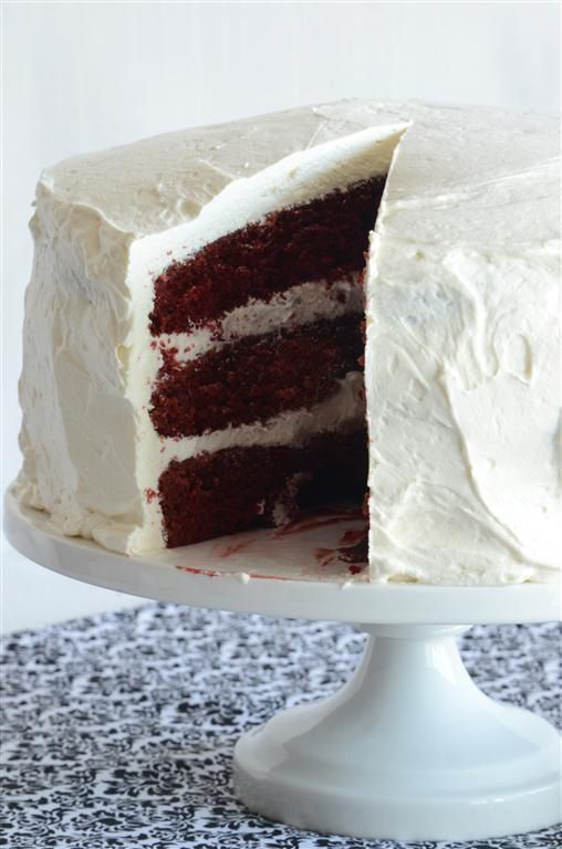 An Edible Mosaic » A Very Special Red Velvet Cake with Cream Cheese Buttercream