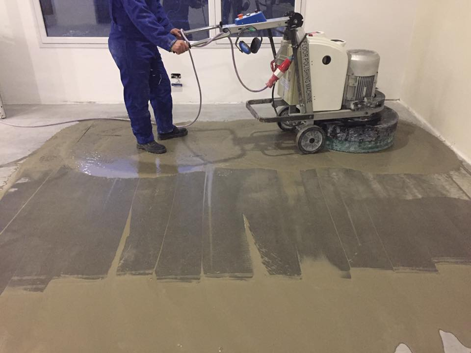 concrete floor grinders and polishers is a very powerful