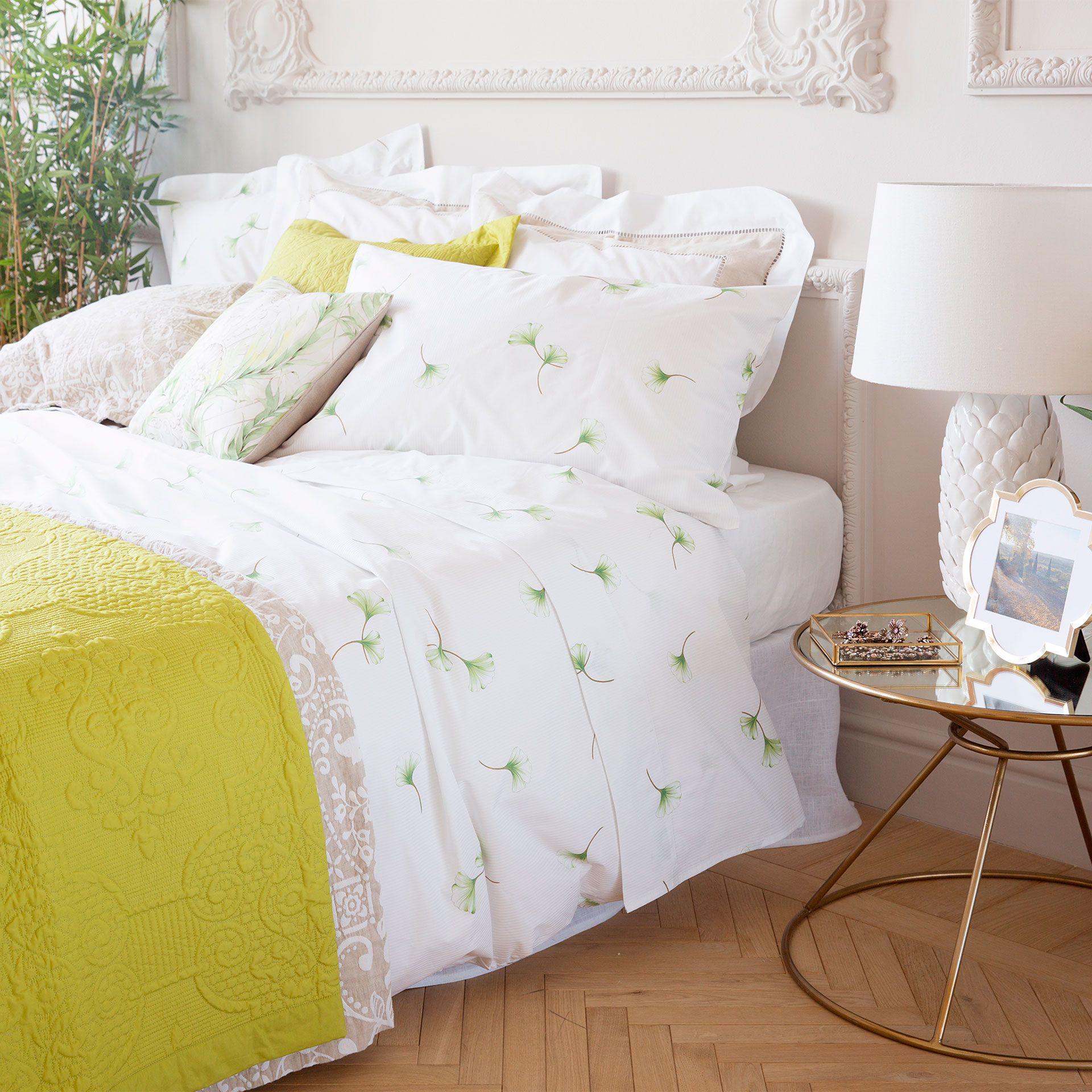 LEAF-PRINT PERCALE BEDDING - Bedding - Bedroom