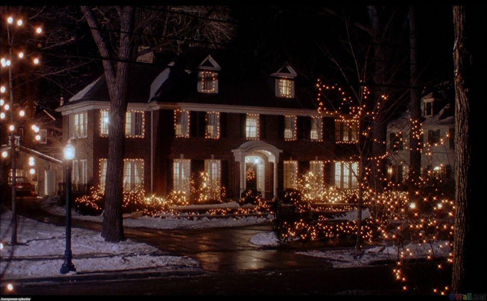 Home Alone HD Wallpaper | Christmas scenes, Animated christmas