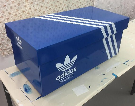 best cheap 71437 6e27f Giant shoe box, Trainer box storage chest. Adidas Nike louboutin Gucci  style holds approximately