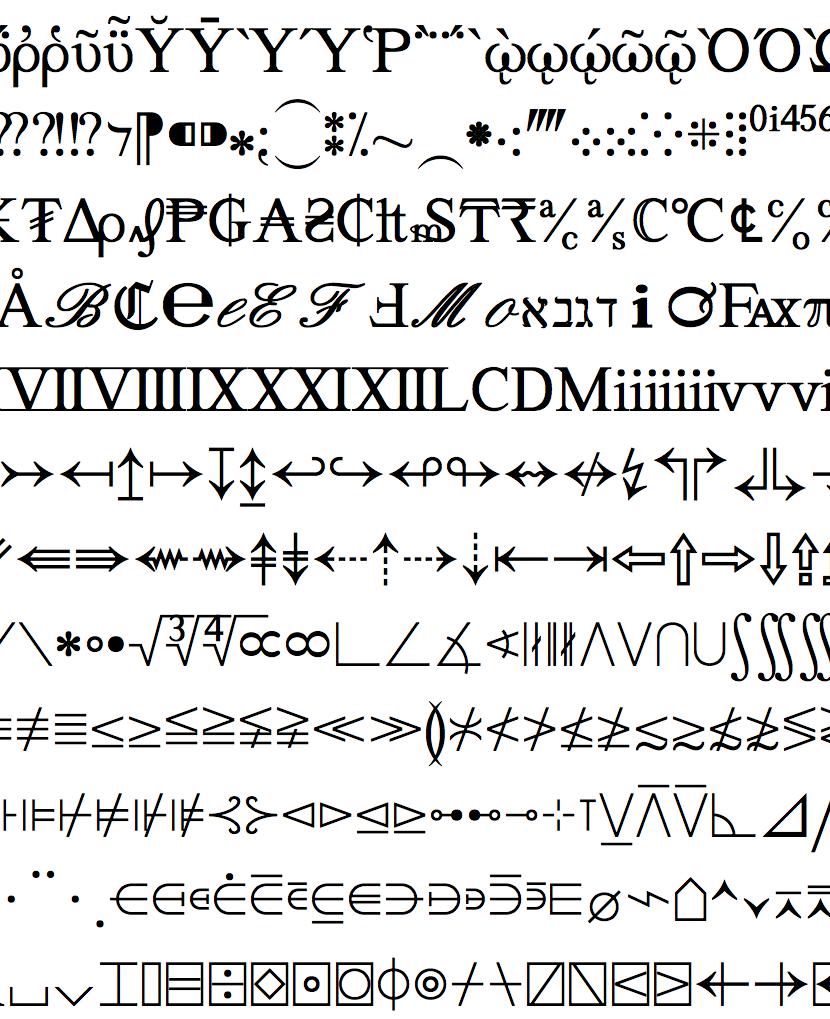 Symbol Font Art Google Search Type Classification Pinterest
