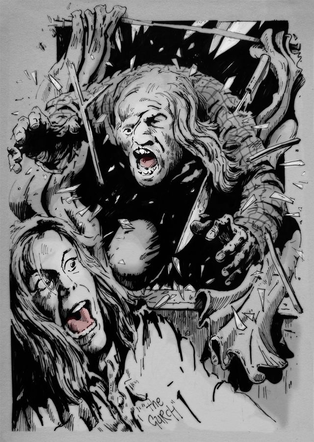 'Friday the 13th Part 2' by The Gurch Horror movie art