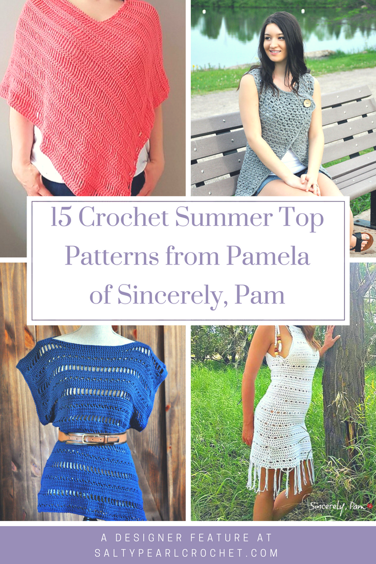 12 Crochet Summer Tops by Sincerely Pam | Crochet - Clothing ...