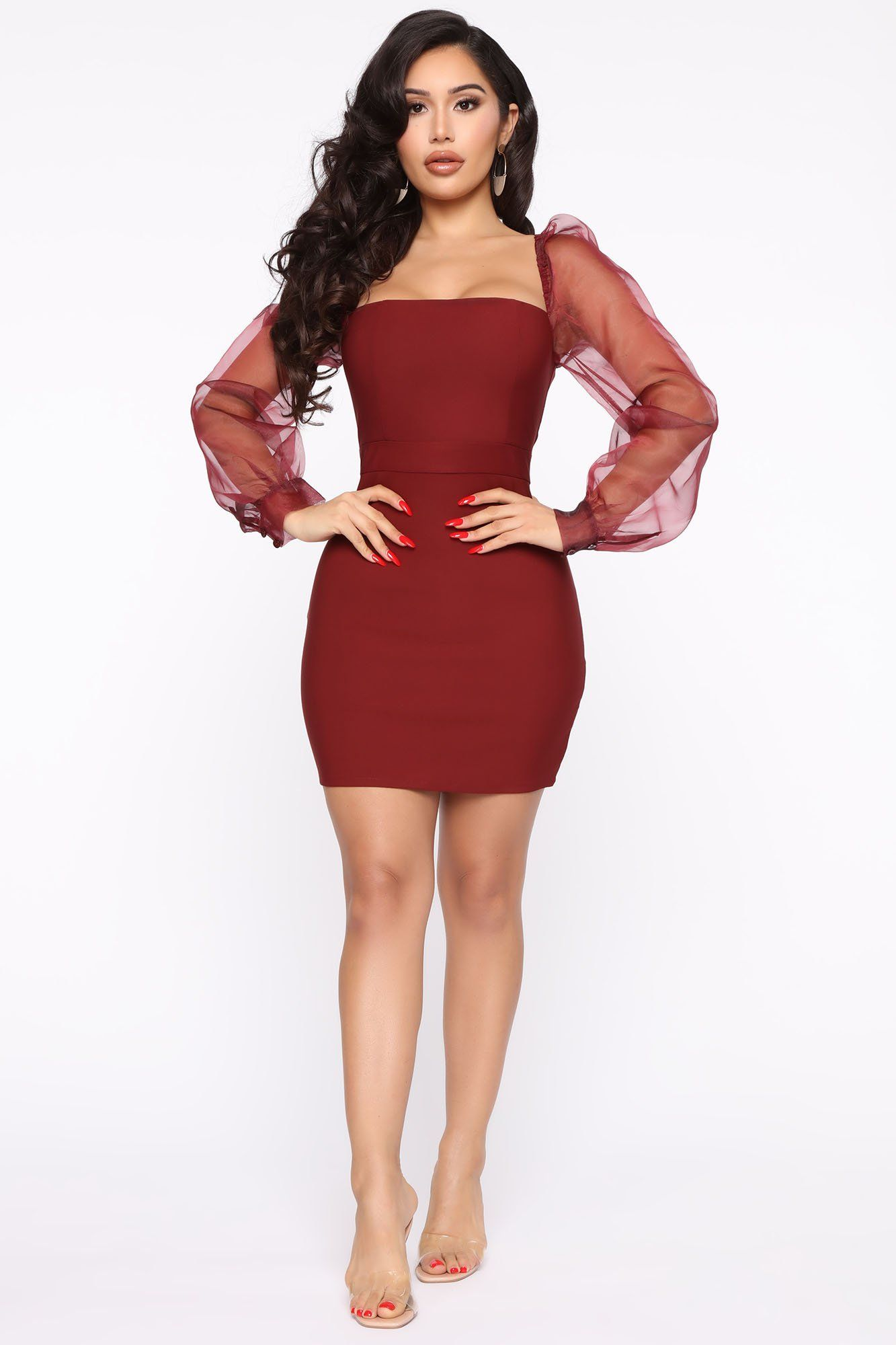 Top Candidate Mini Dress Wine In 2020 Mini Dress Fashion Nova Dress Fashion Nova Outfits