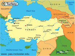 Image result for turkey country map surrounding countries ...