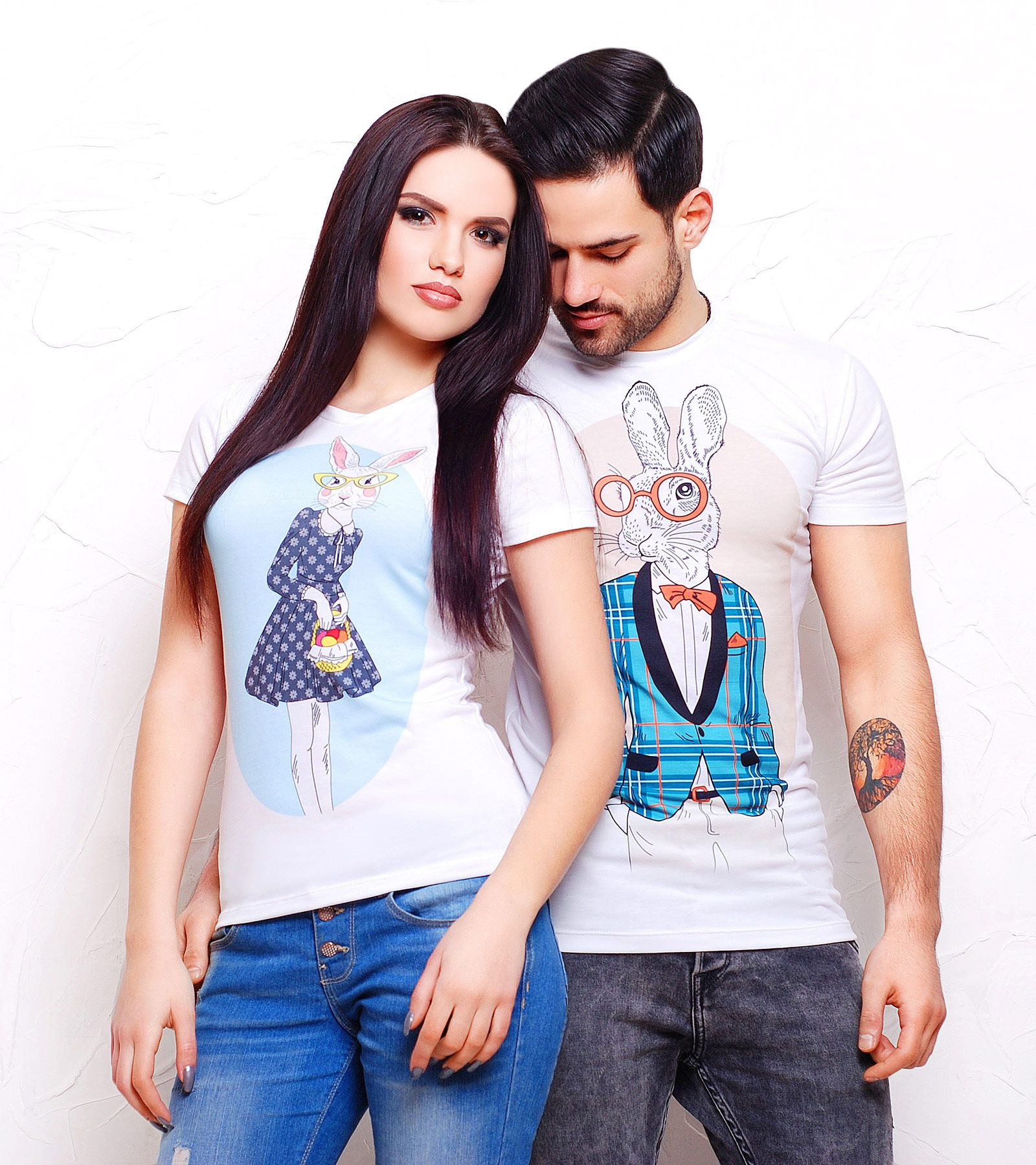 Amazing fashionista couple tshirts for valentines day valentineus