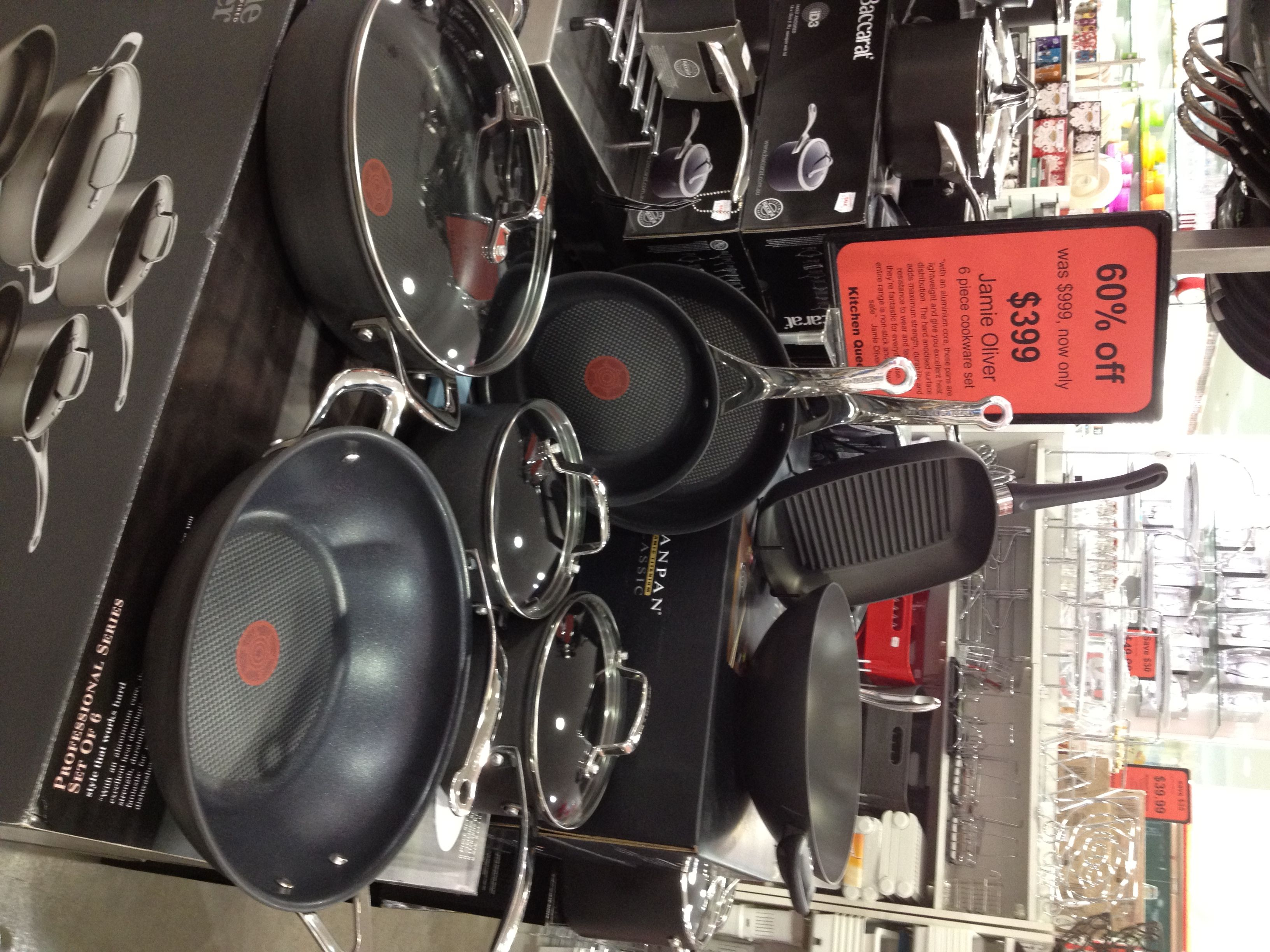 Emily, Kitchen Queen. Jamie Oliver Cookware Set. $399.00 | Pic ...