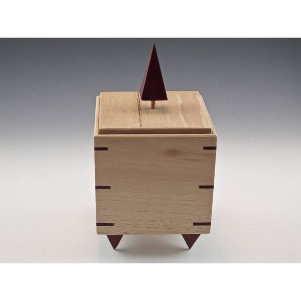 Decorative Urn Impressive Wooden Cube For Knickknacks Small Decorative Urn Lightcolored Review