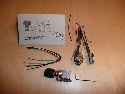 The EMG Afterburner package content by icanmakeit.de, via Flickr