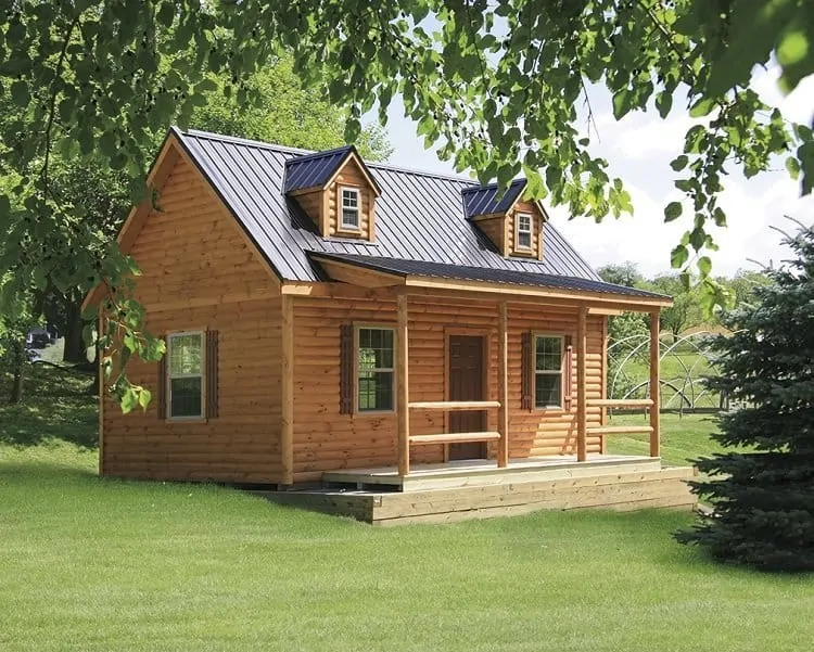 Best Prefab Cabins Of 2020 10 Modular Cabins Reviewed Log Cabin Hub In 2020 Prefab Log Cabins Modular Log Homes Modular Cabins