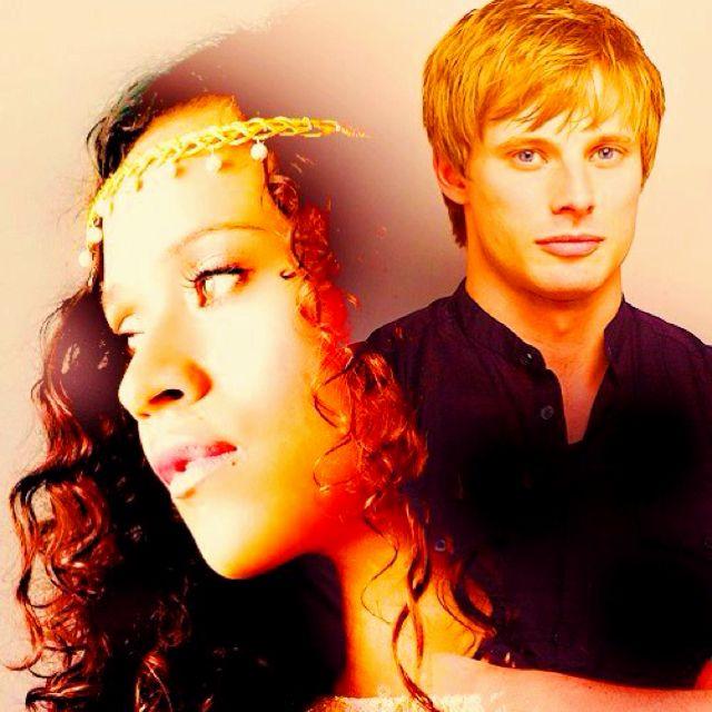 Arthur and Gwen