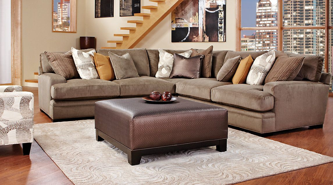 Shop for affordable Sectional Living Room Sets at Rooms To ...