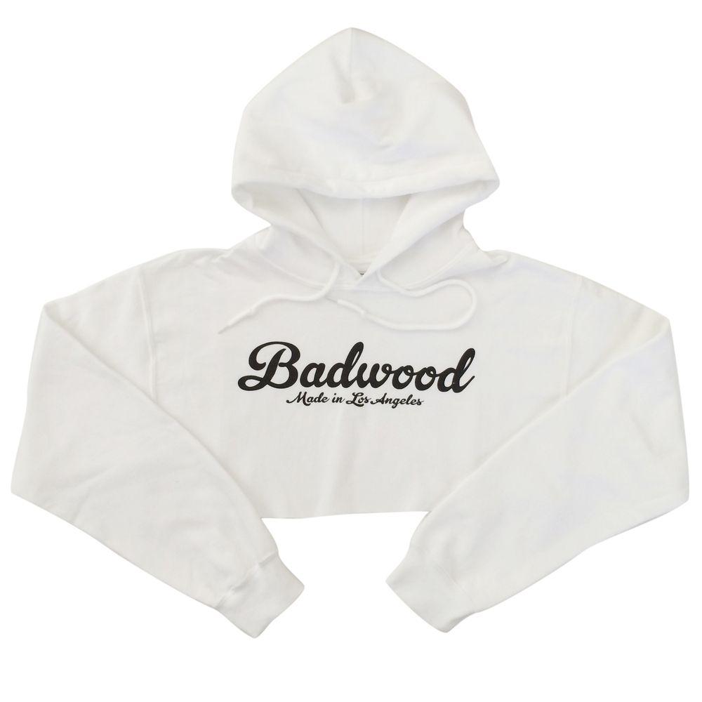 White Crop Hoodie Cropped Hoodie White Crop Hoodie White Hooded Sweatshirt [ 1000 x 1000 Pixel ]