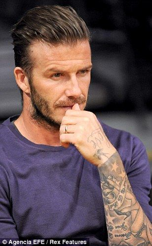 David Beckham Fashion Hairstyles   Stylish Hairstyles For Men   Hairstyles  Weekly