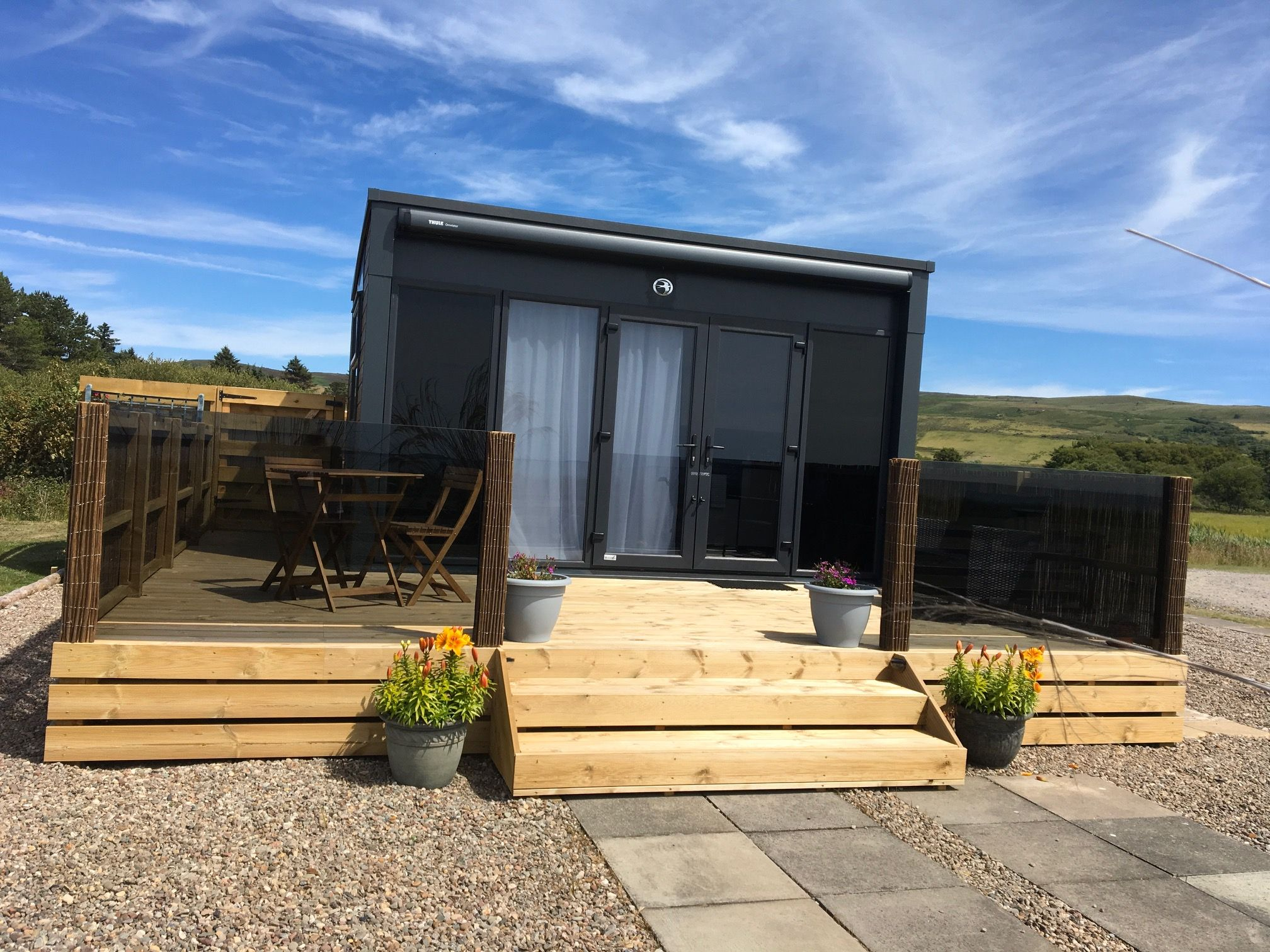 Luxury Tiny House Rental With A Hot Tub In Argyll