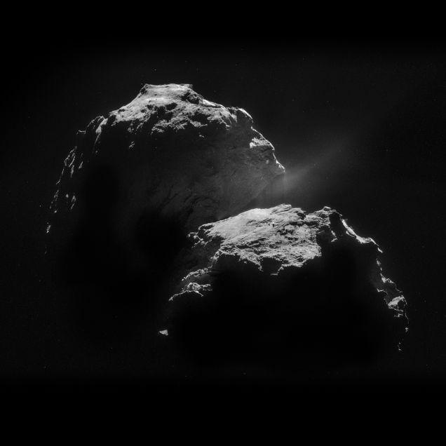 The definitive photo of the comet Churyumov-Gerasimenko