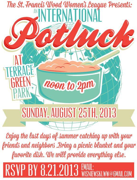 international potluck potluck posters pinterest potluck