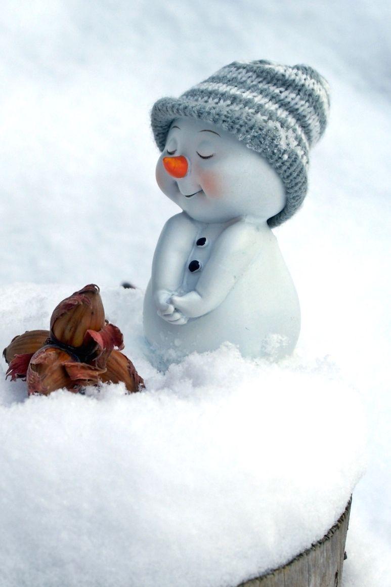 Cute Snowman Hat Snow Snowman Wallpaper Cute Christmas Wallpaper Funny Christmas Photos