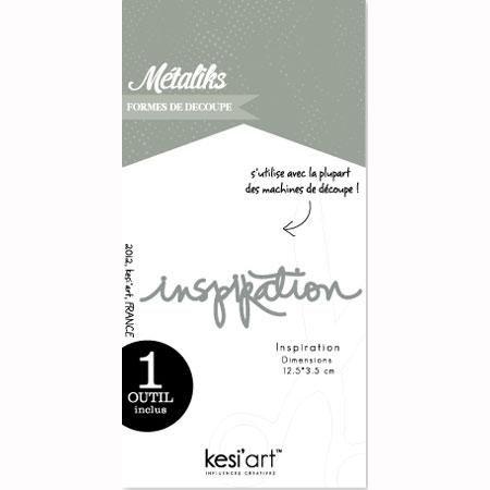 Forme de découpe - Inspiration - 12,5x 3,5 cm