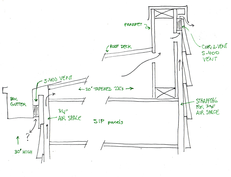 Flat Roof Ventilation Detail Google Search Flat Roof Repair Roofing Roof Repair
