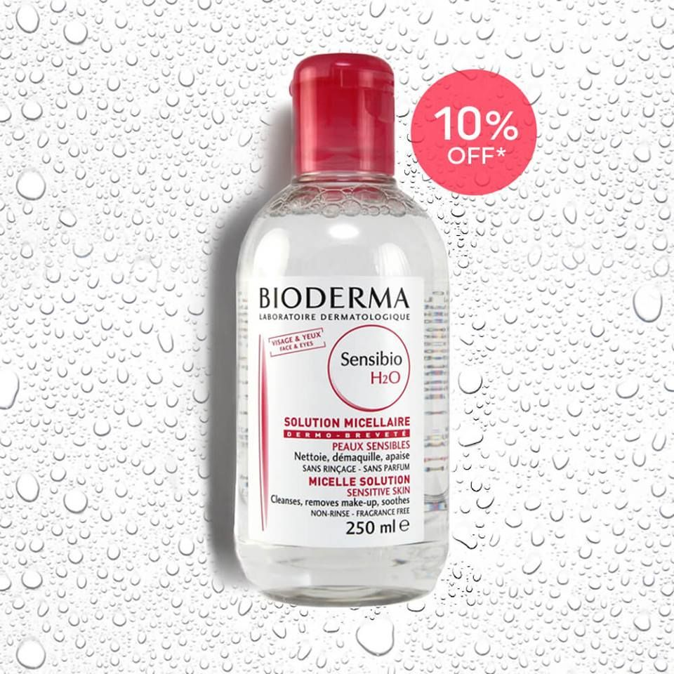 Bioderma Sensibio H2O Micelle Solution (With images