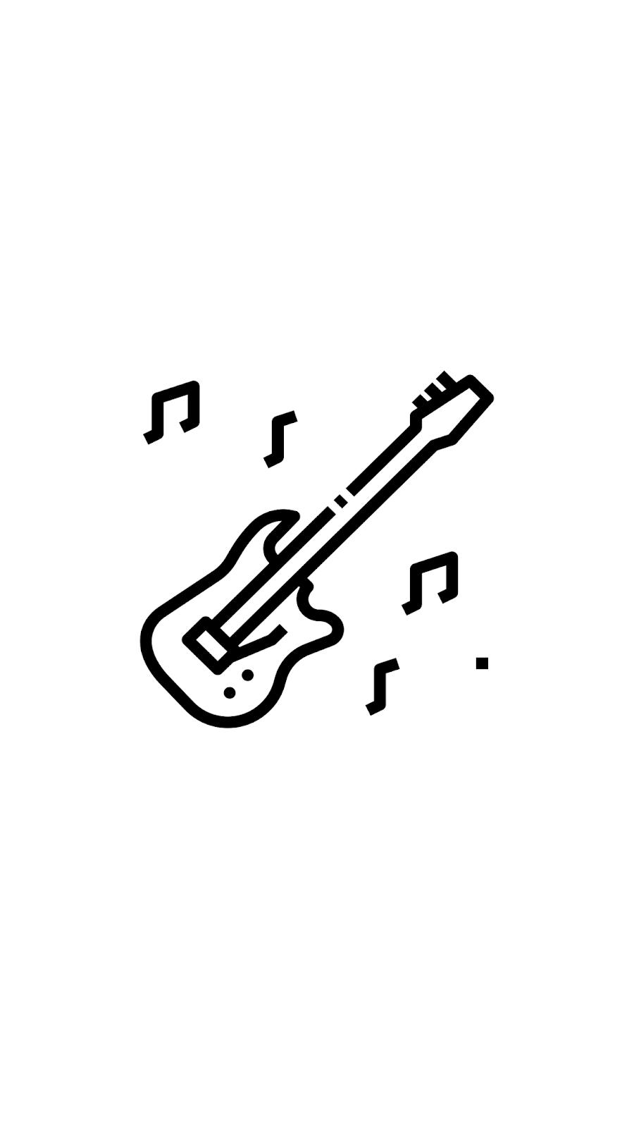 Stories Guitarra Png 900 1600 Com Imagens Desenhos Faceis