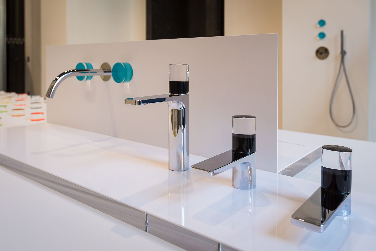 """the images of the """"happy water"""" display created by matteo thun, Badezimmer ideen"""