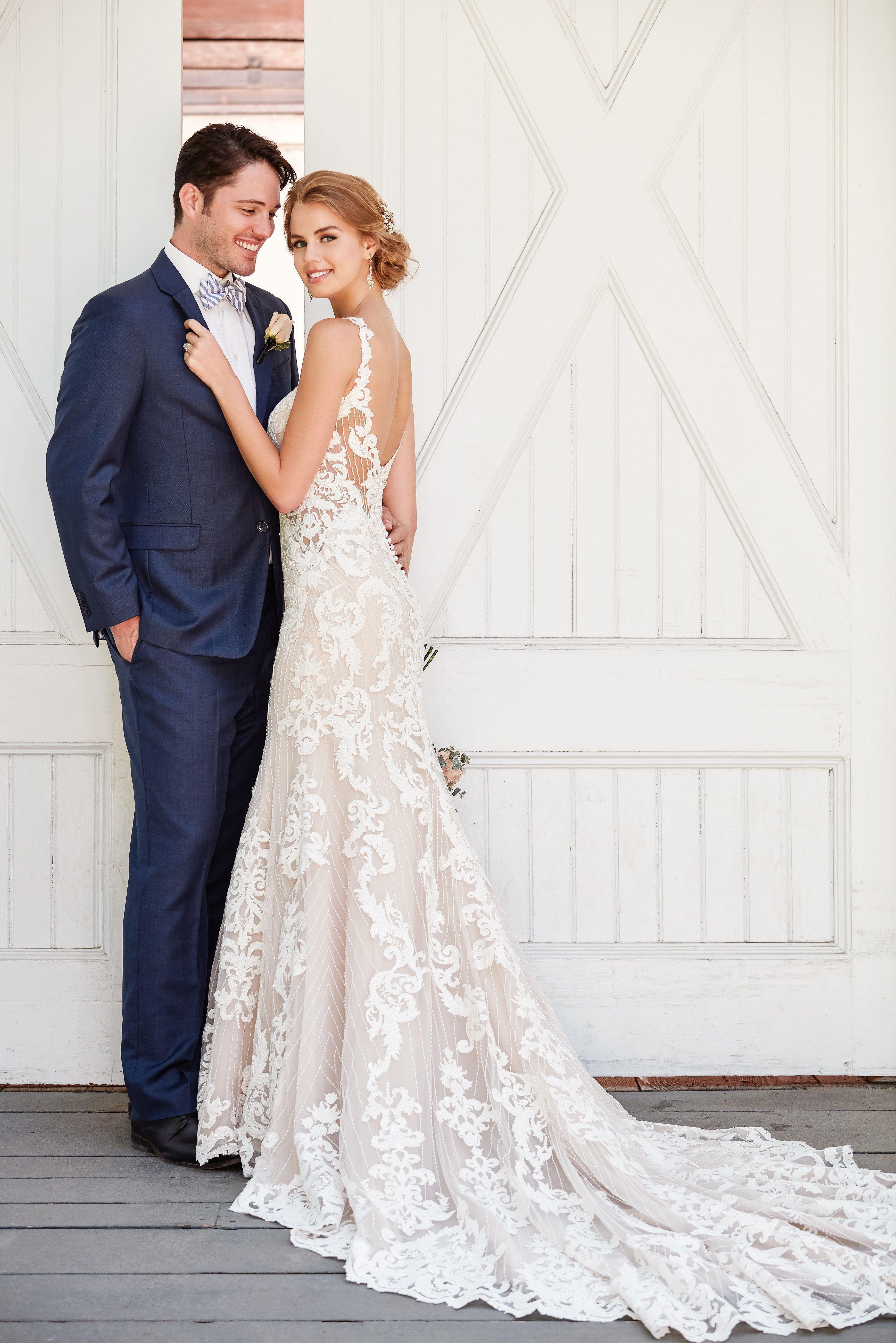 Dreamy Vintage Wedding Gown