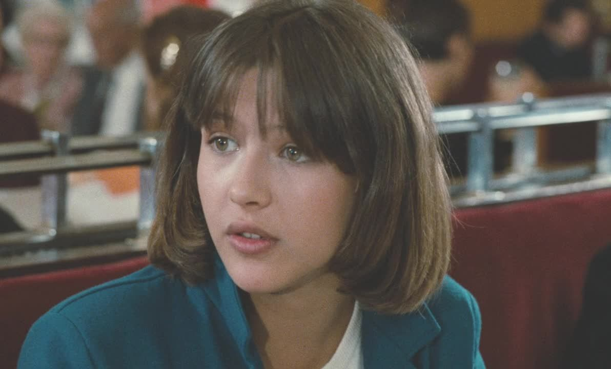Sophie Marceau in the film 'La Boum II' (1982)