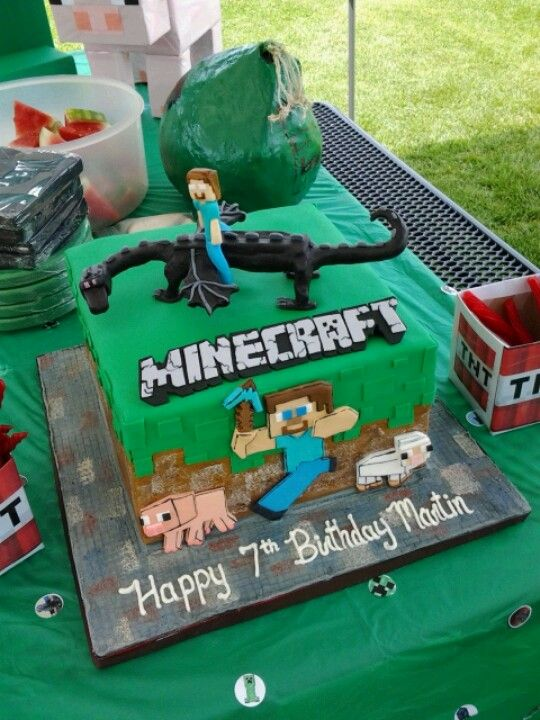 My little brother will probably have this cake for his birthday