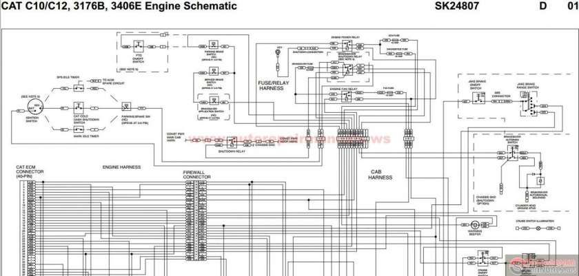 18 3406e Cat Engine Wiring Diagram Cat Engines Diagram Electrical Wiring Diagram