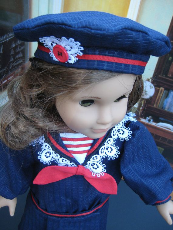 Hey, I found this really awesome Etsy listing at https://www.etsy.com/dk-en/listing/83394689/18-inch-doll-clothes-american-girl-navy
