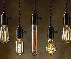 Various vintage light fixtures illuminazione led