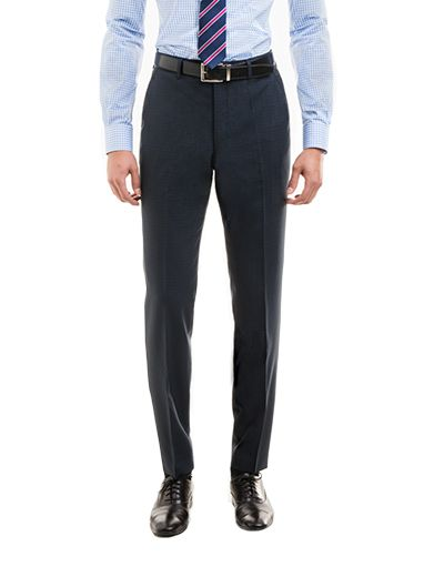 8a3fd08f15 Madison Blue Micro Check pants for summer business casual