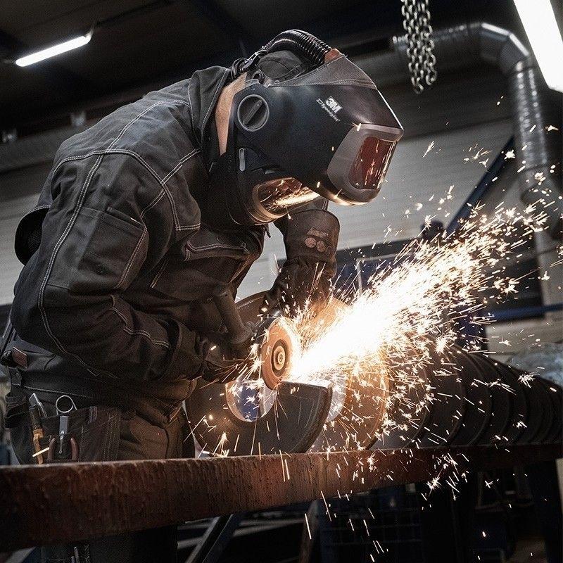 3m 617839 speedglas g501 adflo welding helmet with g5
