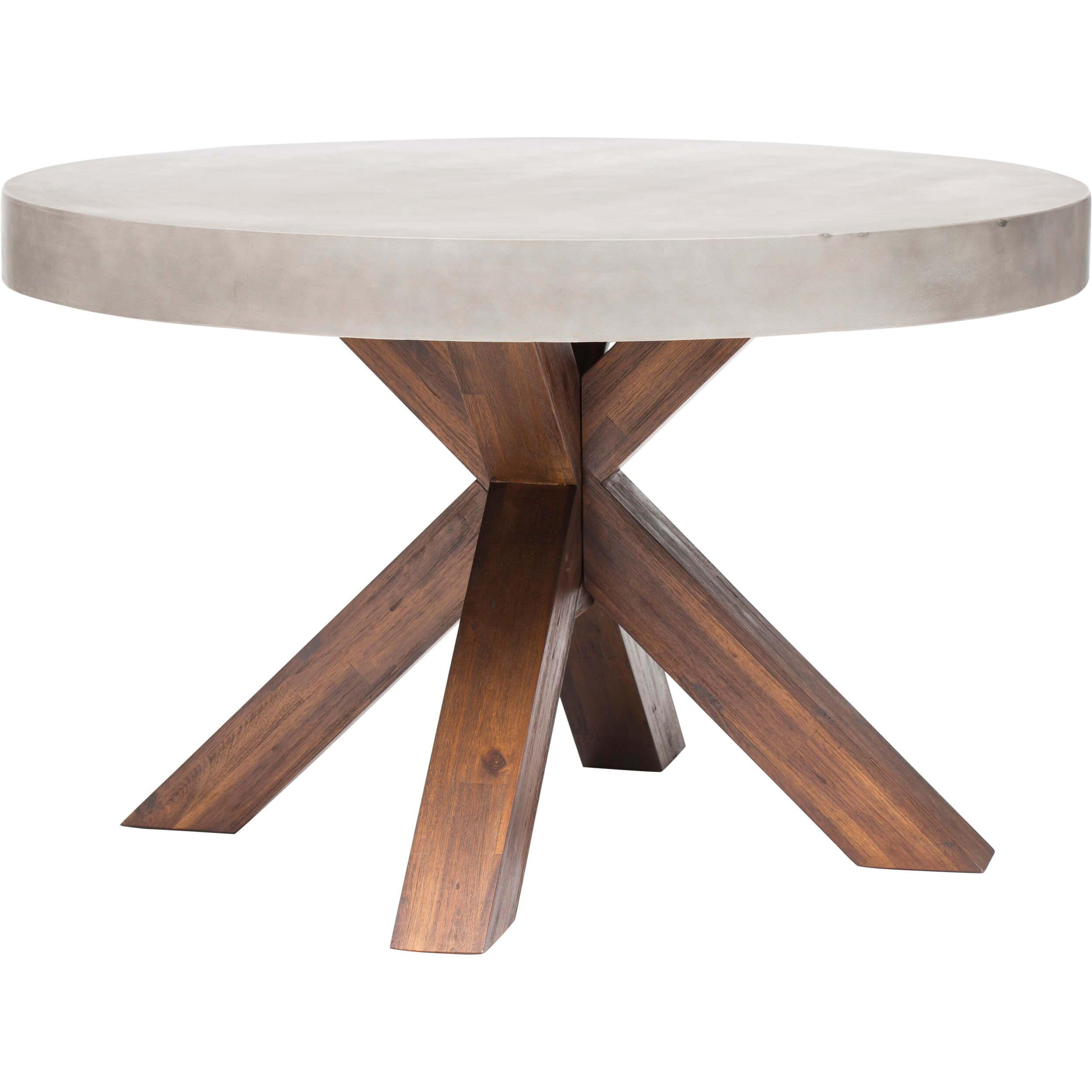 Warwick Round Dining Table Stone Dining Table Concrete Dining