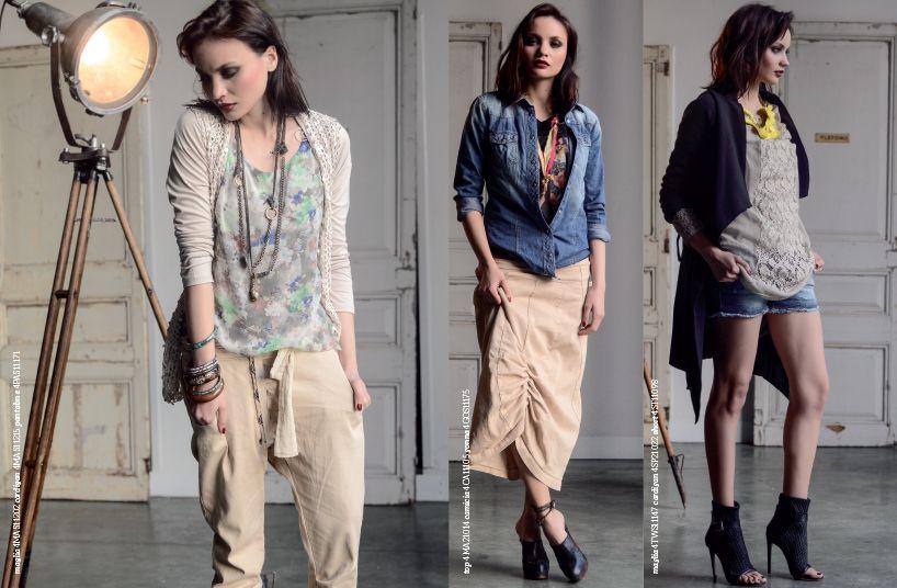 Spring | Summer catalogue women's fashion www.risskio.it