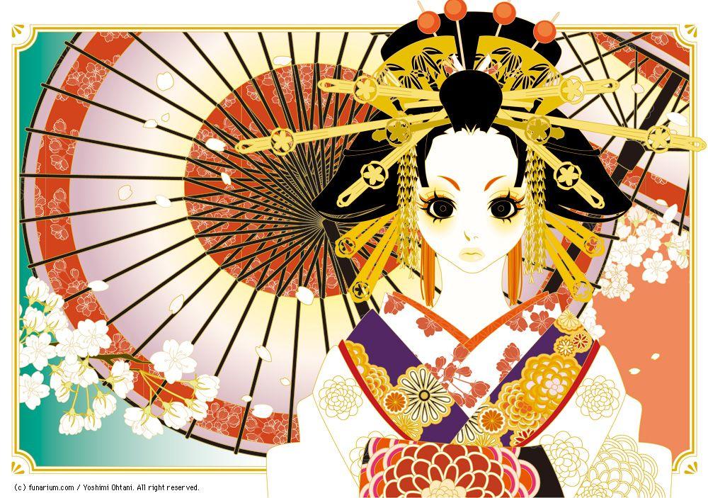 Japanese illustrator Yoshimi OHTANI | DENKI-MIRAI ...