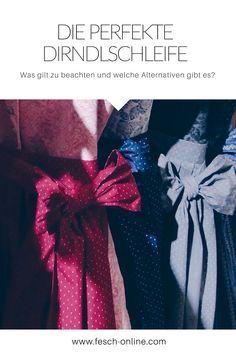 Die perfekte Dirndlschleife - jetzt auf fesch-online.com