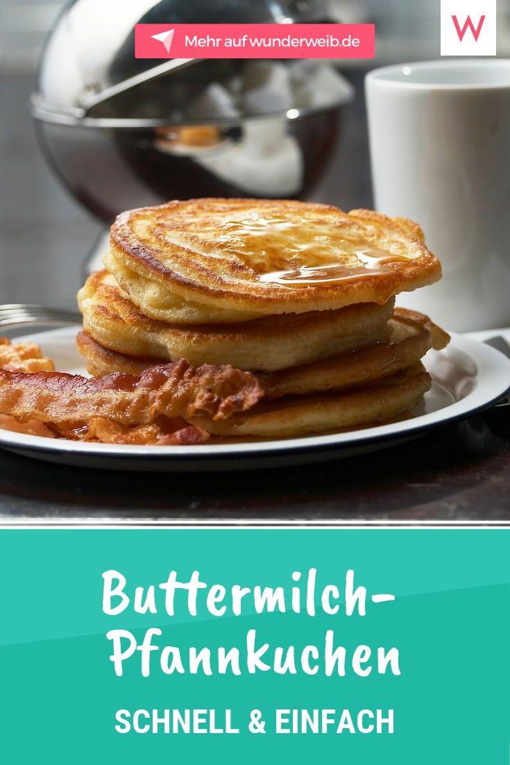 Buttermilchpfannkuchen: Schnell und einfach nach Großmutters Rezept
