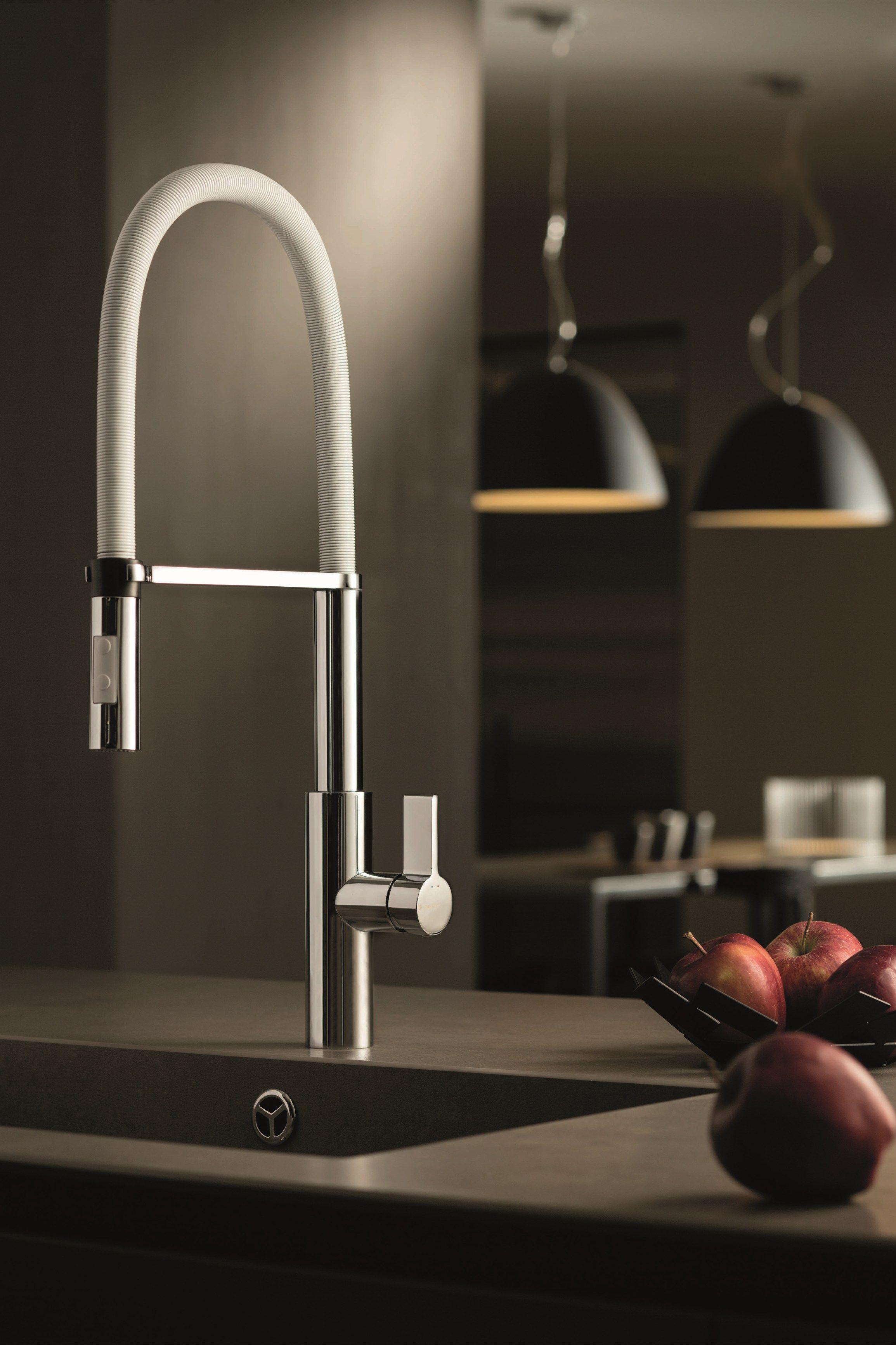 LIBERA KITCHEN Miscelatore da cucina by NEWFORM | kitchen taps/pot ...