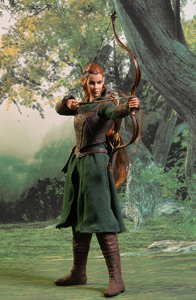 asmus the hobbit tauriel sixth scale figure the
