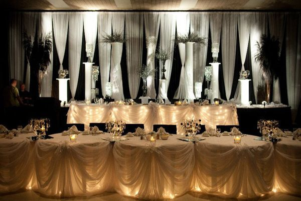 Wedding Head Table Structure