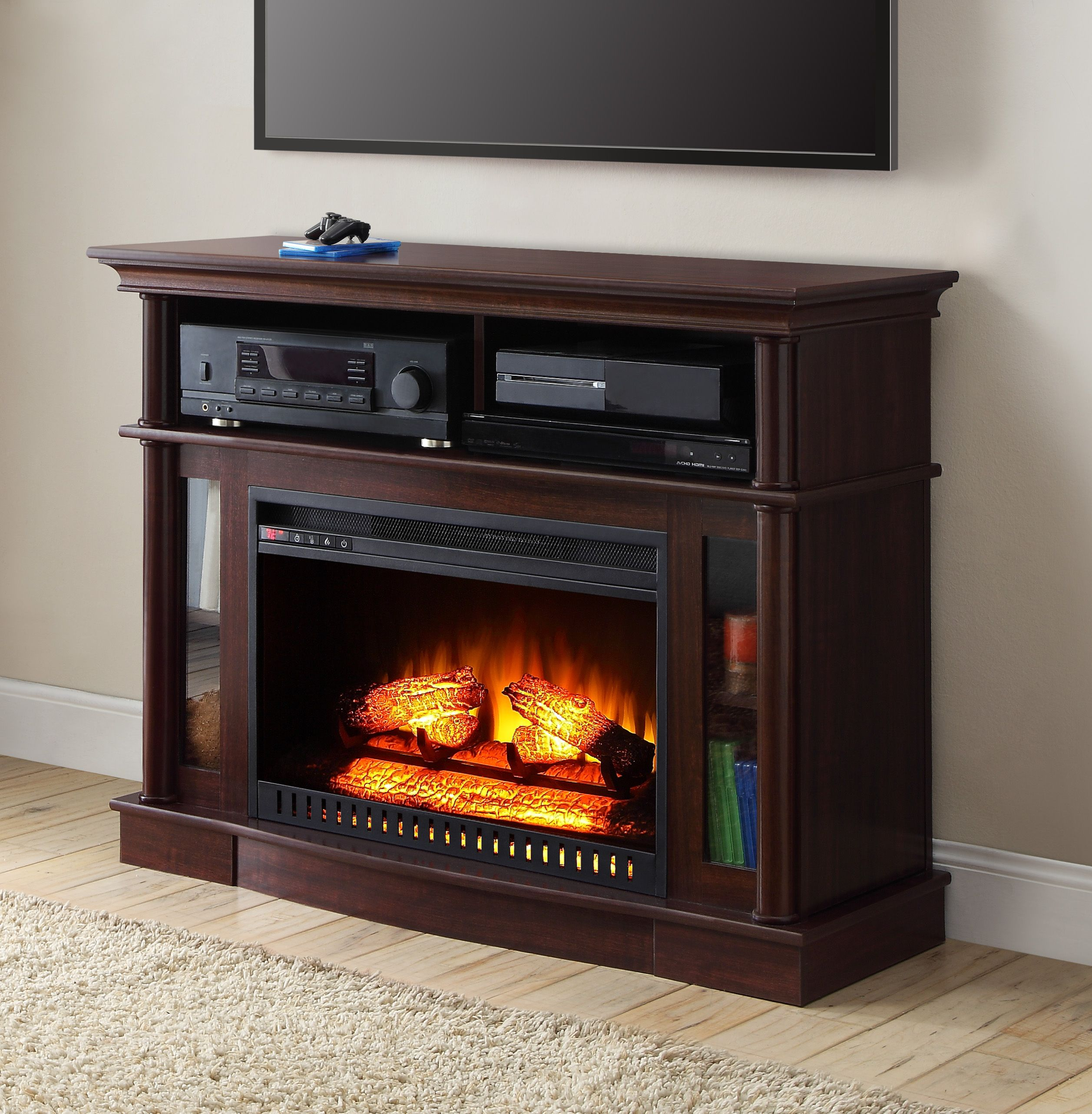 Better homes and gardens ashwood road media electric fireplace for better homes and gardens ashwood road media electric fireplace for tvs up to 45 teraionfo
